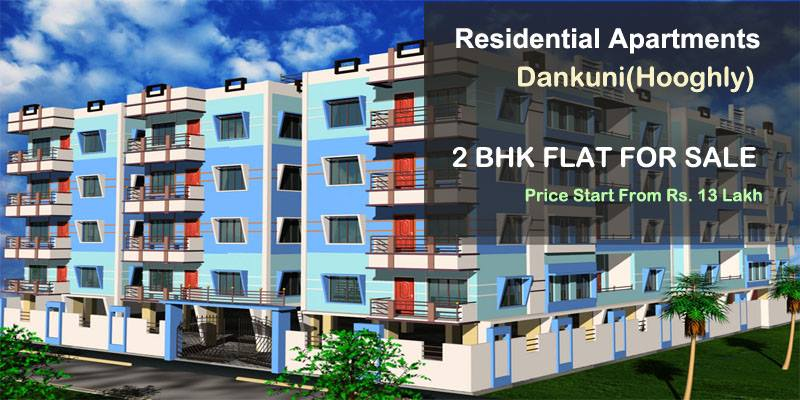 2 bhk flat in Dankuni